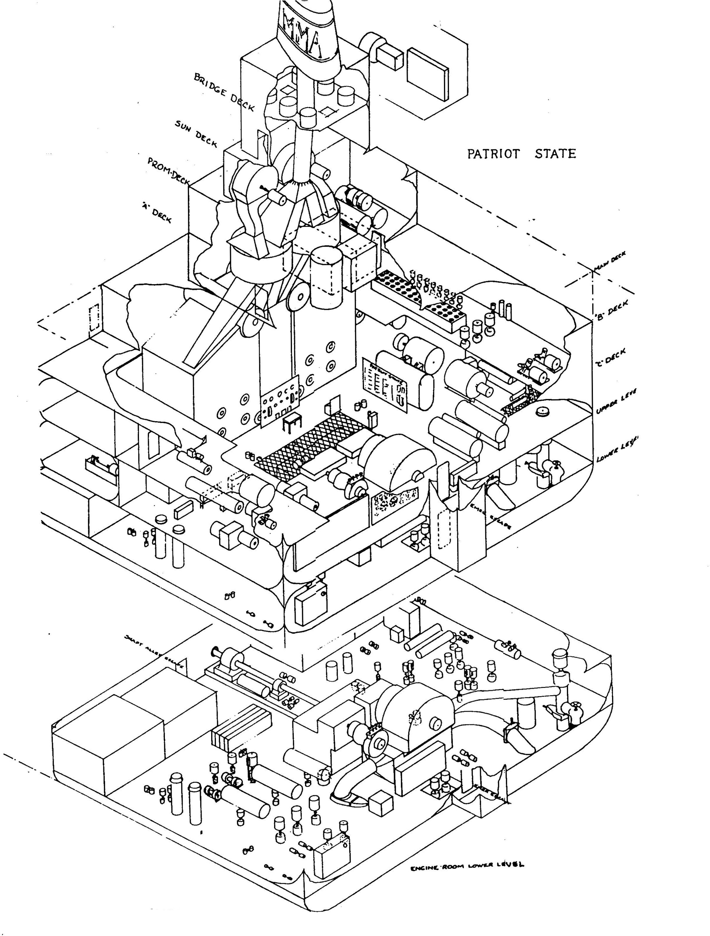 Spaceship Engine Room: TSPS Engineering Manual